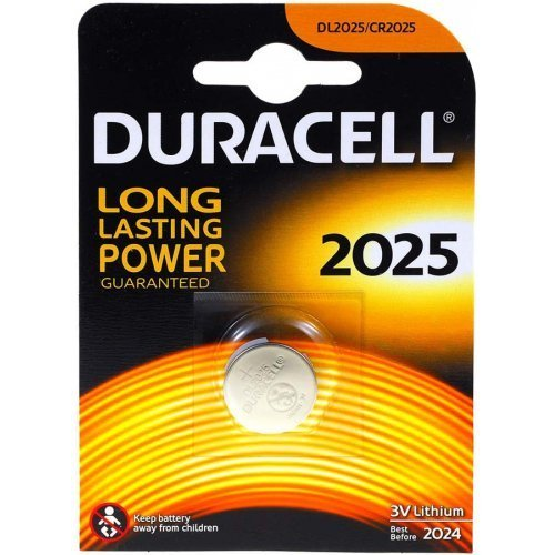 Duracell DUR033979 Household Battery Single-Use Battery CR2025 Litio 3 V - Pilas (Single-Use Battery, CR2025, Litio,...