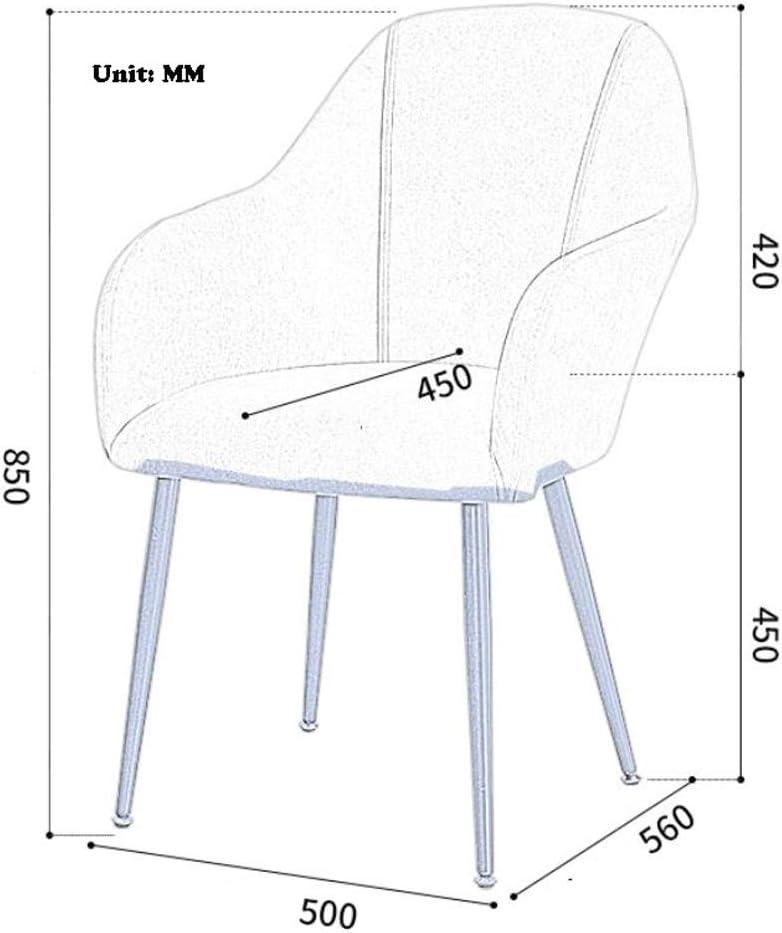 Stable Simple chaise bureau étudiant et chaise de maquillage tabouret retour à la maison à manger chaise d'ordinateur Gratuit (Color : Pink) Green