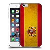Head Case Designs Español De España Banderas Vintage Carcasa de Gel de Silicona Compatible con Apple iPhone 6 Plus/iPhone 6s Plus