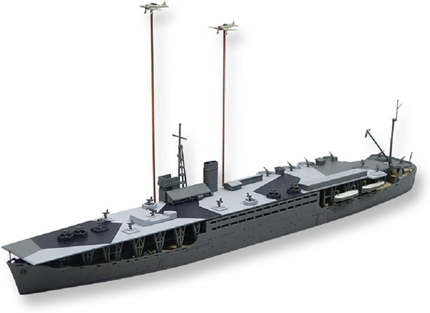 1   700 Imperial national army Hei special ship slotted two early type plastic model