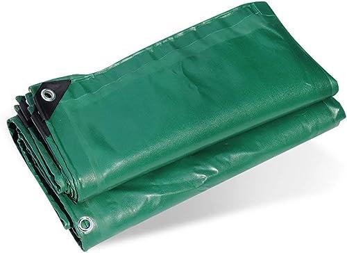 6-WUTOLUOHANS Tissu Anti-Pluie bache imperméable à l'eau de bache Haute résistance PVC imperméable à l'eau de Tente de Camion Tente extérieure d'isolation de la poussière