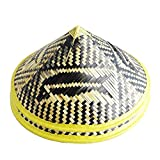 You will receive 2 straw hats with this purchase Lightweight materials for a comfortable fit Its traditional hand made Straw Hat has the size of 16.5 inches Dia. and 6 inches deep. Use it cover your face totally from the scorching sun or to give an A...