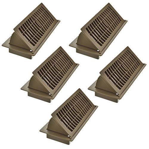 Imperial RG3061 Pop-Up Floor Register, 4 x 10-Inch, Tan, 5 Count