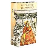 Tarjetas del Tarot del Renacimiento, Tarjetas De Oracle, Tarjetas De Adivinación, Adecuado para Principiantes, Todos, Reuniones Familiares, Juegos De Mesa, Partes De Entretenimiento