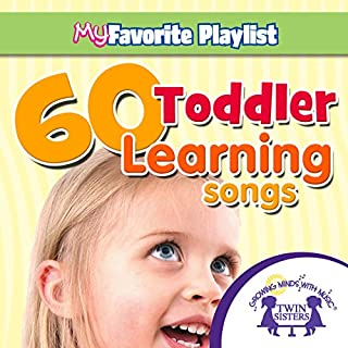 60 Toddler Learning Songs cover art