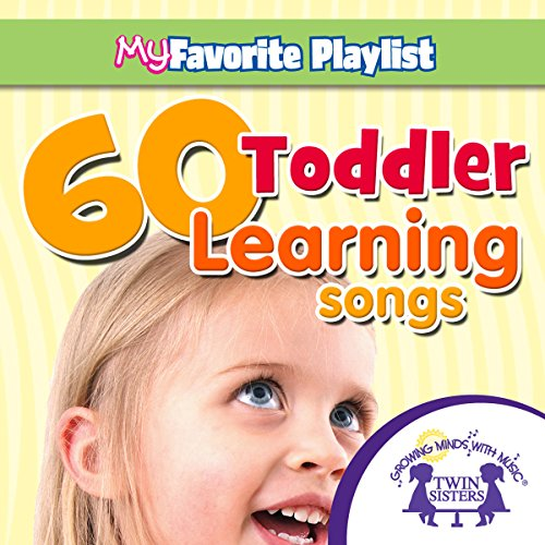 60 Toddler Learning Songs audiobook cover art