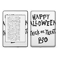 igsticker kindle paperwhite 第4世代 専用スキンシール キンドル ペーパーホワイト タブレット 電子書籍 裏表2枚セット カバー 保護 フィルム ステッカー 015821 ハロウィン 英字 文字