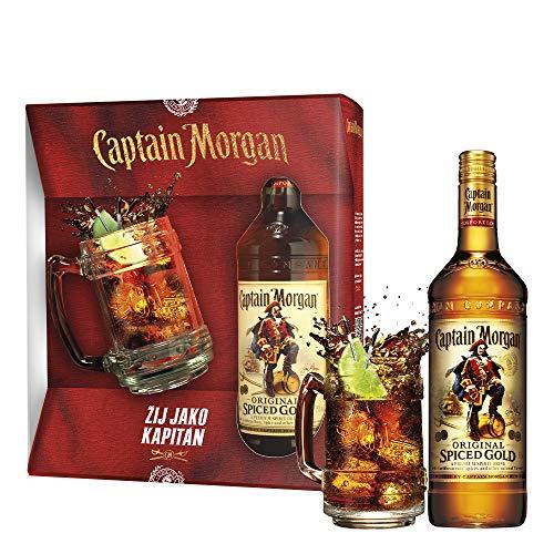 Captain Morgan Original Spiced Gold Set inkl. Krug und Geschenkverpackung (1 x 0.7 l)