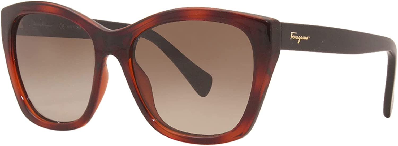 Ferragamo SF957S Women Max 71% OFF Free Shipping New Sunglasses Tortoise