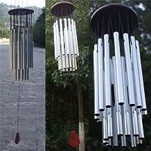iMeshbean Amazing 27 Tubes Windchime Chapel Bells Wind Chimes Door Hanging Home Decor (27 Tubes)