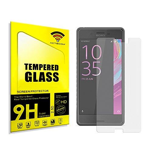 actecom® Protector Pantalla para Sony Xperia X Compact Mini Cristal Vidrio Templado