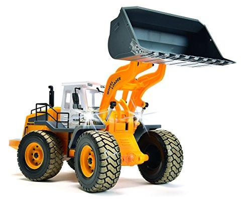RC Baufahrzeug kaufen Baufahrzeug Bild 1: Carson 500907192 - Fahrzeug, 1:14 Radlader 27MHz, 100% RTR*