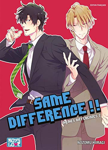 Same Difference - Tome 02 - Livre (Manga) - Yaoi