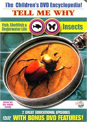The Children's DVD Encyclopedia! Tell Me Why Fish, Shellfish,Underwater Life & Insects