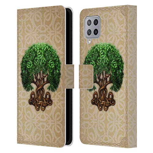 Head Case Designs Officially Licensed Brigid Ashwood Tree of Life Celtic Wisdom 2 Leather Book Wallet Case Cover Compatible with Samsung Galaxy A42 5G (2020)