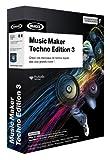 Magix Music Maker Techno Edition 3 - Software de edición de audio/música (2048 MB, 512 MB, 1 GHz, 1 usuario(s), Caja, ENG)