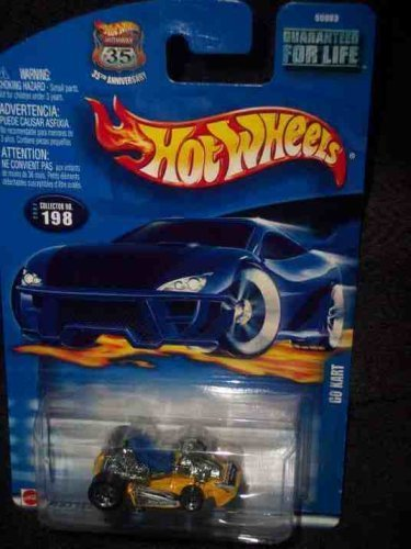 #2002-198 Go Kart 2002 card Collectible Collector Car Mattel Hot Wheels by Hot Wheels