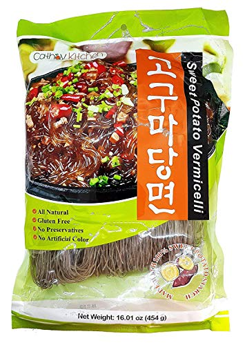 Sweet Potato Noodles Vermicelli Paleo 100% Natural (Pack of 1)