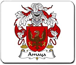 Amaya Family Crest Coat of Arms Mouse Pad