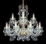 Boemia lampadario di cristallo