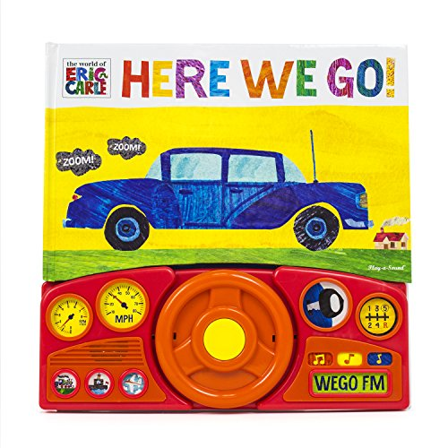 World of Eric Carle, Here we Go Little Steering Wheel Sound Book - PI Kids (The World of Eric Carle)
