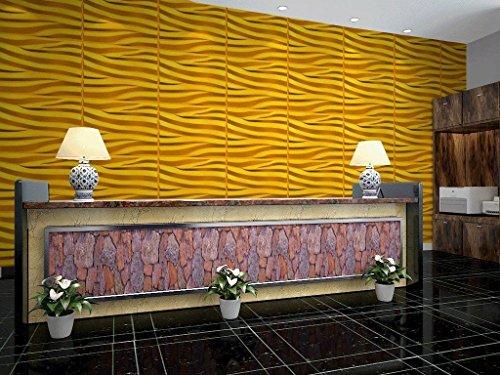 6 m², Paneele 3D Platten Wanddekoration Wandpaneele Dekoration, Alice
