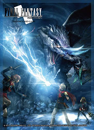 Square Enix Glossy 60 ct Final Fantasy TCG: FF Type-0 Standard Size Card Sleeves Individual Pack