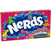 12-Pack Nerds Rainbow Candy Video Box, 5 Ounce