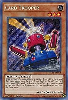 Card Trooper - BLRR-EN053 - Secret Rare - 1st Edition