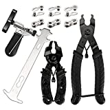 Welltop Bicycle Chain Repair Tool Kit with Bike Link Plier, Chain...
