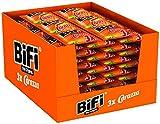 BiFi Carazza Original – 24er Pack (24 x 3 x 40 g)– Herzhafter Pizzasnack zum Mitnehmen