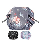 Magic Cosmtics Pouch Drawstring Makeup Bag Organizer Large Make up Bag Travel Pouch Waterproof Lazy Portable Makeup Pouch Toiletry Bag for Travel