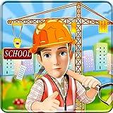 Sitio de construcción de edificios escolares: juego de construcción ciudad Pintar ciudad chica renovar simulador 2019