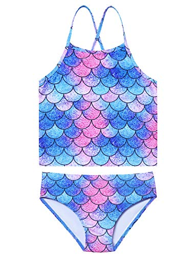 Kids Two Piece Swimsuits Dog Bathing Suits Girls 10 11 Tankini Beach Wear