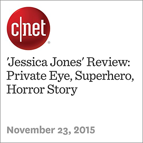 'Jessica Jones' Review: Private Eye, Superhero, Horror Story audiobook cover art