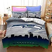 【Package Details】1 x duvet cover +2x pillow pillowcases, Hide zipper closure, 4 corner ties. COMFORTER or INSERT NOT INCLUDED 【Fabric】Brushed Polyester Microfiber Skin-friendly and Breathable is a Perfect Choice for All Seasons and Different ages. It...