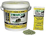 Rodenticide, Green Pellets, 4 lb. Pail