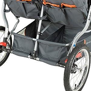 Baby Trend Navigator Double Jogger Stroller, Vanguard
