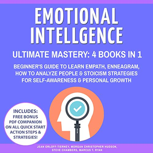 Emotional Intelligence Ultimate Mastery audiobook cover art