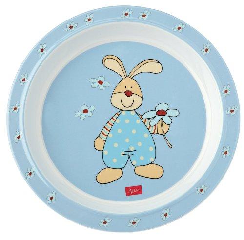 sigikid Tableware - Assiette en Mélamine - Semmel Bunny