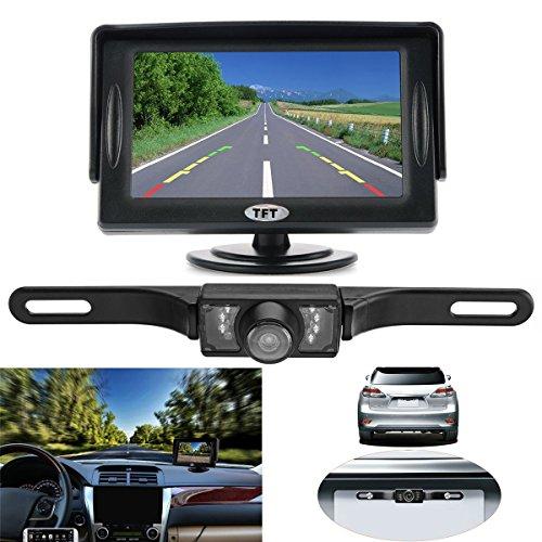 AVANI EXCHANGE 4,3 Zoll TFT LCD Auto-Rückansicht-Monitor mit wasserdichter Nachtsichtkamera