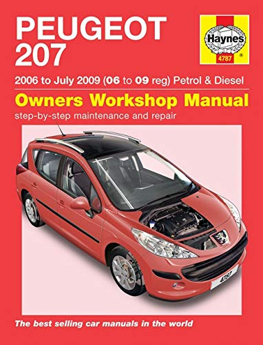 Haynes Publishing: Peugeot 207 Petrol & Diesel Service And R