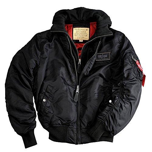 Alpha Industries MA-1 D-tec Jacket 183110 (XXL, black/black)