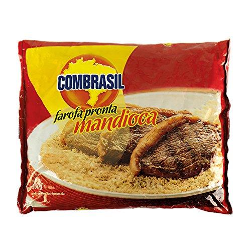 Gewürztes Maniokmehl, Beutel 500g -- Farofa Pronta de Mandioca COMBRASIL