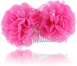 Olici Headdress Accessories/Hair Pins/Party/Prom/Bride/Girls Fresh Silk Yarn Stones Flowers Comb Comb Flowers Ornaments Hair Ornaments