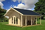 Allwood Bella | 237 SQF Cabin Kit with 86 SQF Loft