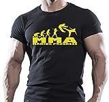 Arubas-uk MMA gimnasio y bodybuilding para hombre (avanzando motivación Goku camiseta MMA...