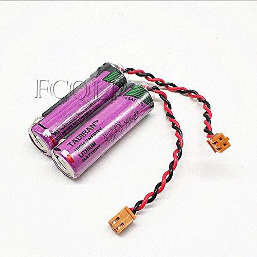FCQLR 1PCS kompatibel für Israel TADIRAN AA3.6V TL-5903 SL-360 Siemens PLC Batterie