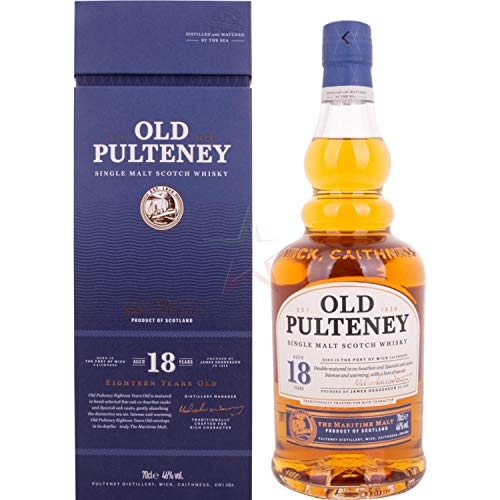 Old Pulteney 18 Years Whisky (1 x 0.7 l)