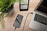 USB Type-C charger/Data cable set, type C - A M/M, 1.0m, 3er Set, 3A, 480MB, 2.0 Version, bl